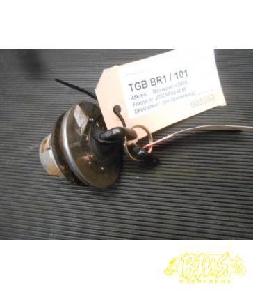Tankslot 2 sleutels TGB BR1 (101) 45kmu Bouwjaar-v2005 Framenr-ZDCNF02A08F Kmstand-03005