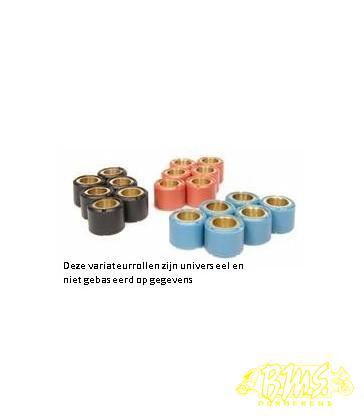 11,5 GRAM variarollen-Set 16X13 POLINI zwart