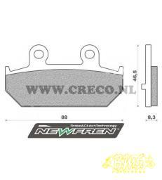Yamaha  ATV Remblokset newfren  FD0301 BKS