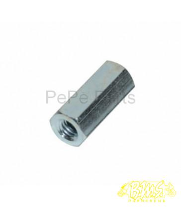 m6x25mm moer messing uitlaat Piaggio-1 orig 833494