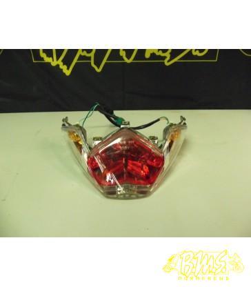 Achterlicht Kymco super8 Lichtkrasje op rode glas