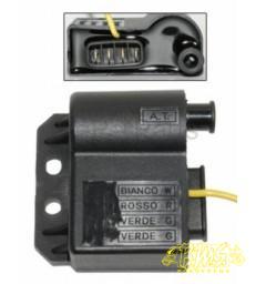 Bobine / CDI-unit 4 polen en een draad Merk-DMP