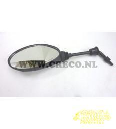 piaggio zip linker spiegel zip 2000 4takt swart druppel m8 rechtsdraat