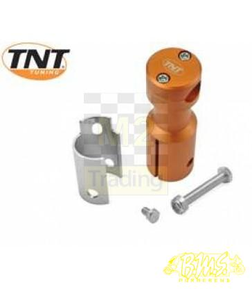 Stuur-klam-pen Merk-TNT wit Peugeot Speedfight 1 en 2