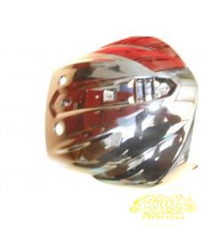 Piaggio Beverly o.a.v. de 125 Tourer E3 2007-2010 voorscherm met  shiny zwart 94
