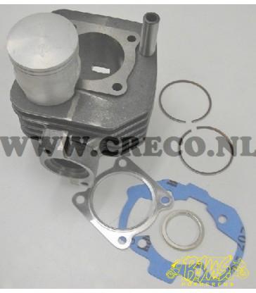 PEUGEOT LUDIX 2takt Cilinder lucht- gekoeld (AC) 40STD ALU POWER 1 45+25KM (25 I.C.M.BROM DEMPER)