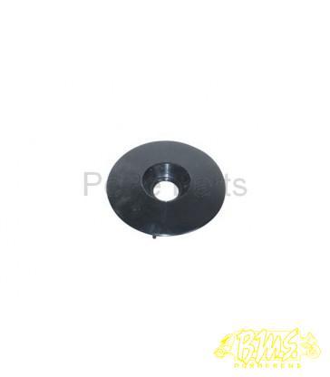 ring zwart windscherm piaggio 32mm zwart