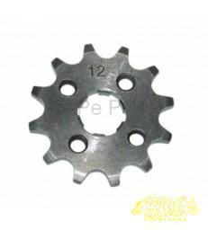 Honda voorkettingwiel brom honda/ gpr/ senda 12t. tanwiel van het merk DMP