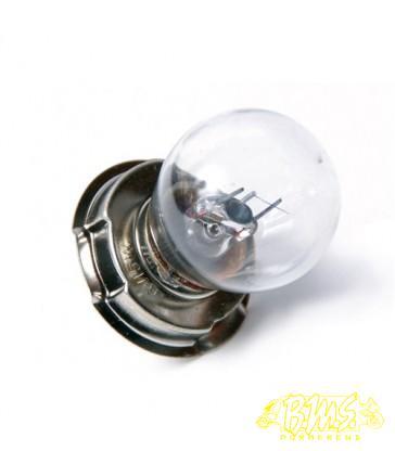 6V-15 WAT P26S LAMP MET KRAAG wit