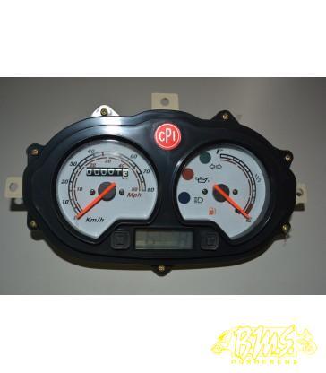 Kilometerteller tachometer,speedometer cpi oliver city 45/58 km/h km en miles per uur