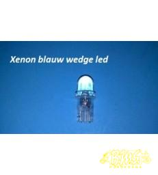xenon blauw wedge 10mm led