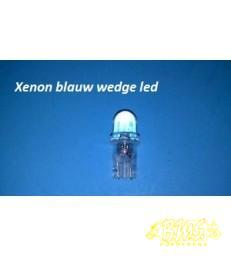 xenon blauw wedge 10mm led