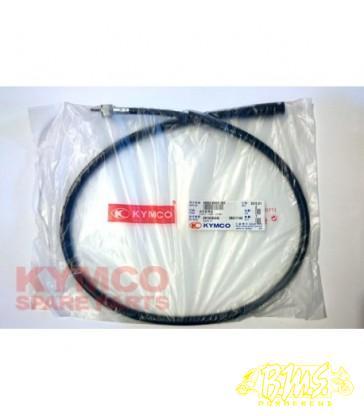 Kymco B&W Kilometertellerkabel KMK. wartel onder en boven LENGTE 1000mm 44830-KHD8-900