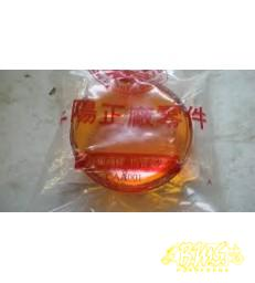 SYM DD50 Knipperlichtglas oranje rond rechts