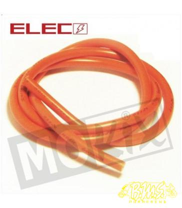 Bougiekabel oranje 7mm 1meter