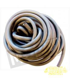 Benzineslang rubber zwart 7x11mm per 25cm