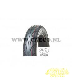 100/90X10 nylon pouwer 1 Slick 56J. Tubeless buitenband