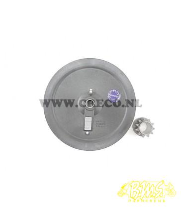 RAMZEY PLASTIC / PEUGEOT SP103, SNAARSCHIJF P103 RAMZEY STAAL +VTW poelie v-snaarplaat PVC (V-Snaarplaat)