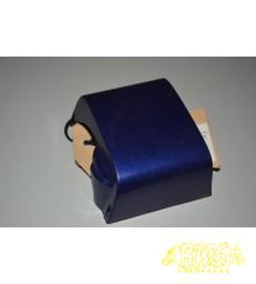 Vork afdekplaat scherm donkerblauw vespa piaggio F18 vispino frame nr VTAC23000