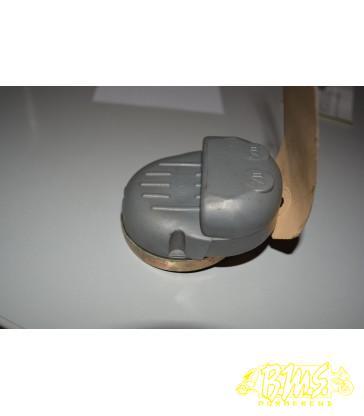 afdekplaat scherm donkerblauw vespa piaggio F18 vispino frame nr VTAC23000