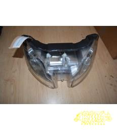 Koplamp origineel Aprilia SR-Factory (carburateur type) Framenr-ZD4VF00 KMstand afgelezen 36558 45km/u