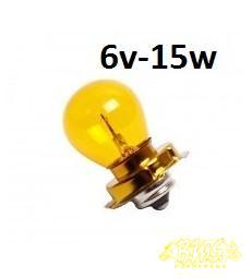 6V-15W BA15 LAMP Achterlamp OAV gilera citta / zundapp/