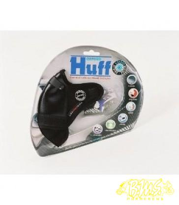 Smoeltje Oxford Huff facemask zwart carbonweave