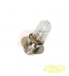 (12V 35/35W) LAMP BULB,HEADLIGHT voet ø15mm glas ø 13mm totaal lang 48mm