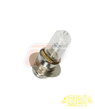 (12V 35/35W) LAMP BULB,HEADLIGHT voet ø15mm glas ø 13mm totaal lang 48mm