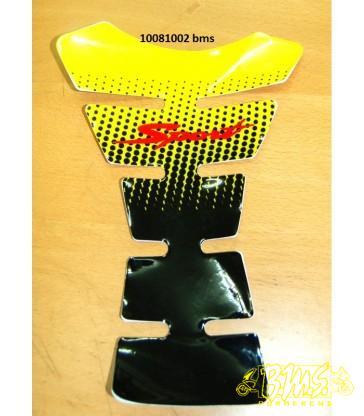 Tankpad zwart/geel DMP Opruiming kopen betekend houden