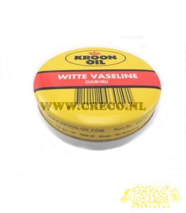 Vaseline 65gr merk kroon witte vaseline zuurvrij