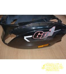 Motorscherm met krassen zwart Piaggio zip2000  origineel