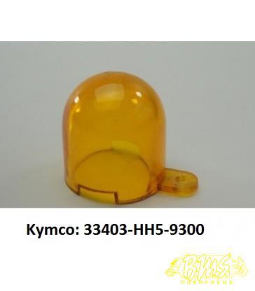 RAW, richtingaanwijzer, knipperlicht Oranje glaasje Kymco: 33403-HH5-9300
