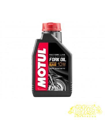 10w Vork olie expert medium 1liter FORKOLIE merk motul