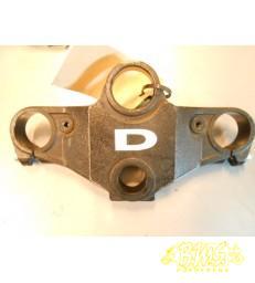 Kroonplaat boven (voorvork)   origineelYamaha TZR50 2010 boven het slot gat kleine beschadiging