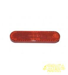 reflector achterspatbord 58233R piaggio  primav/ sprin/ vespa lx/ vespa s/ zip2000 rood
