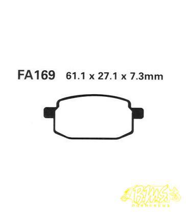 EBC FA 169 Remblokset (Merk-Ferodo FDB 636)