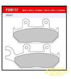 Merk-Ferodo Remblokset FDB737p 104x46x10mm