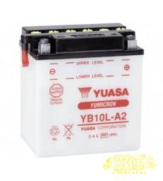 Accu Y- Locatie B.10L-A2 YUASA  135X90X145 12VOLT 11AM