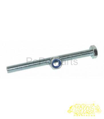 Onderstandaardas peugeot FOX middenbokas pen 10mmx120mm