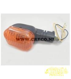 Knipperlicht Compleet orange zwart linksvoor en rechtsachter  oranje