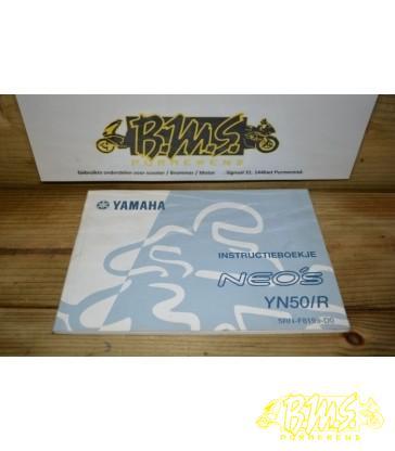 Yamaha Aerox instructieboekje