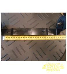 Kentekenplaatdrager met reflector 24cm