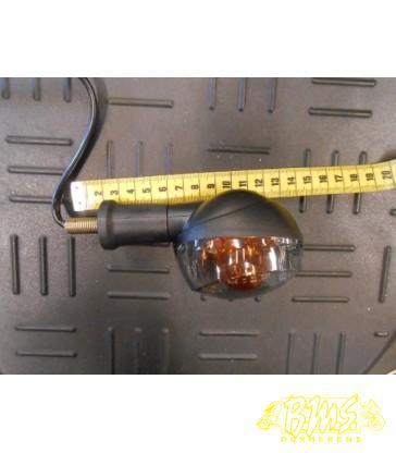 Richtingaanwijzer Knipperlicht RAW rechts achter op stang (totaal 14cm)